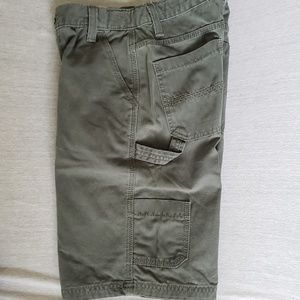 Boys sz 14 Arizona Grey/Green Cargo Shorts